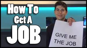 how to get your first job how to get your first job