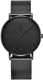 Alienwork <b>IK</b> Watch for <b>Men</b> Women with <b>Mesh</b> Strap Analogue