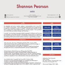 shannon pearson cv