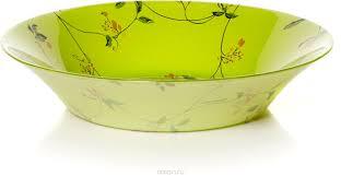 """<b>Тарелка</b> глубокая <b>Pasabahce</b> """"<b>Барбарис</b>"""", цвет: салатовый ..."""
