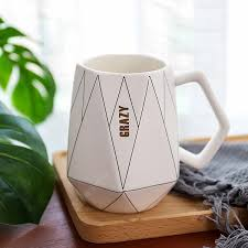 Polygonal Ceramic Mug Water Cup Sale, Price & Reviews| Gearbest ...