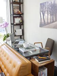 living room desks furniture: dont have separate home office move a living room couch away from the
