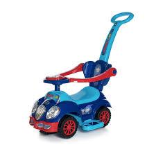 <b>Каталка</b> детская <b>Baby Care</b> Cute Car 558W blue от 1 до 5 лет ...