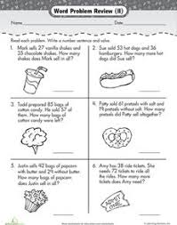 Addition and subtraction, Word problems and Worksheets on PinterestAddition and Subtraction Word Problems Worksheet