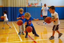 Image result for kids playing basketball