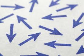 Image result for arrows going in different directions