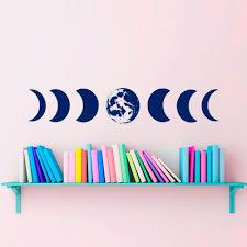 <b>YOYOYU</b> Art Home Decor Moon Phases <b>Wall Decal Vinyl</b> Sticker ...