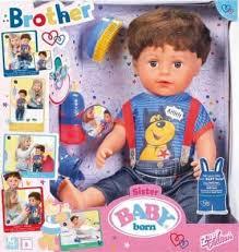 Интерактивная <b>кукла Zapf Creation</b> Baby Born Братик, 43 см, 825 ...