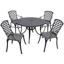 Buy Crosley Furniture Sedona 48-Inch <b>Five Piece</b> Cast Aluminum ...