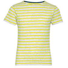 <b>Футболка</b> детская <b>MILES KIDS</b> серый с желтым с логотипом ...