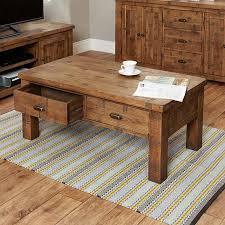 heyford rough sawn oak four drawer coffee table coffee table baumhaus space baumhaus wine rack lamp table