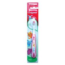 Детская <b>зубная щетка Colgate</b> Детская <b>Smiles</b> для детей 0-2 лет ...