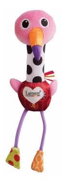 Развивающая игрушка Lamaze <b>Веселый Розовый</b> Фламинго ...