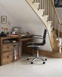 awesome understairs home office small wooden table with stell modern chair with marbel area homeoffice homeoffice interiordesign understair