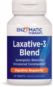 Nature's Way Laxative-3 Blend for Occasional Constipation, 60 ...