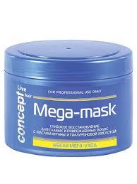 <b>Маска</b> МЕГА-Уход (MEGA-MASK) для слабых и <b>поврежденных</b> ...