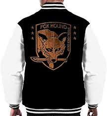 <b>Foxhound Special Forces</b> Group Metal Gear Solid Men's Varsity ...