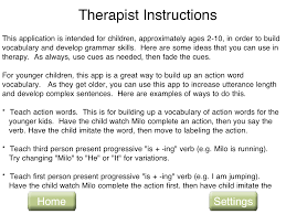 consonantly speaking abcs slps a is for apps action words speech milo verbs therapist instructions