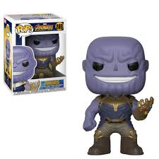 <b>Фигурка Funko POP</b>! Bobble: Marvel: <b>Avengers Infinity</b> War: Thanos ...