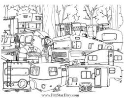 Small Picture Instant Download Vintage Airstream Travel Trailer