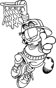 Small Picture Garfield With Camera Coloring Page Garfield Bw Pinterest Coloring