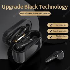 XY-8 Stereo Binaural TWS Three Generation Bluetooth earphones ...