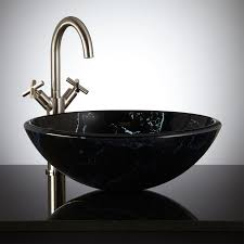 large size design black goldfish bath accessories: black bathroom sink signaturehardware com dappled glass vessel bathroom vanities with tops lowes bathroom bathroom large size