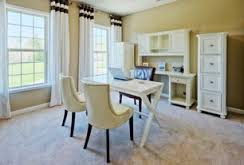 2 tags traditional home office with high ceiling carpet budget home office design