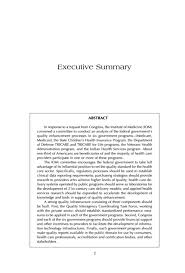 research paper executive summary Concrete Stock