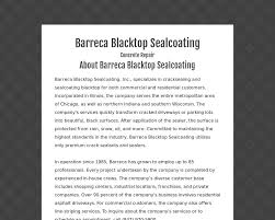 search results for chicago il barreca blacktop sealcoating