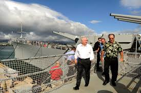 u s department of defense photo essay defense secretary robert m gates tours the uss missouri memorial ford island hawaii