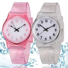 50M <b>Fashion Casual</b> Rain Clock Transparent Jelly Small Fresh ...
