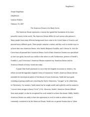essays for high school students