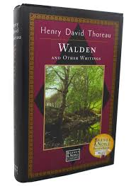 rare book cellar rare out of print books walden and other writings henry david thoreau