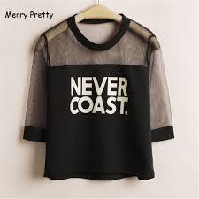 2019 <b>Merry Pretty</b> Summer Harajuku <b>Women</b> Tshirts Letter Print ...