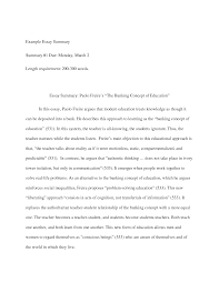 summary analysis essay how to title a summary response essay