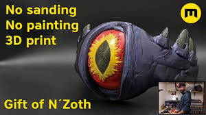 Gift of N'Zoth - 3D print assembly - <b>World of Warcraft</b> - YouTube