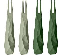 <b>Набор из 4 шпажек</b> CLUB Koziol, зелёный
