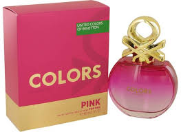 <b>Colors Pink</b> Perfume by <b>Benetton</b>   FragranceX.com