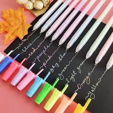 <b>10pcs lot Creative</b> 10Colors Gel Pen 0.5mm Colour Ink Pens Marker ...