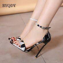 <b>BYQDY</b> Mature High Heel <b>Women</b> Sandals Pumps High Heels ...