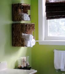 bathroom decor ideas unique decorating:  bathroom decoration decorative towel ideas green painting full size of