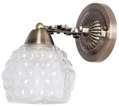 Настенный светильник <b>Arte Lamp</b> Malina <b>A7695AP</b>-<b>1AB</b>, 60 Вт ...