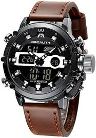 MEGALITH Mens Sports Watches Black Military ... - Amazon.com