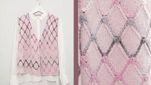 Alize Superlana Klasik ile Baklava Desenli Yelek / <b>Diamond Pattern</b> ...