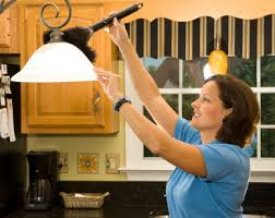 Image result for How to clean lights in your home