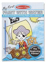 <b>Melissa</b> & <b>Doug</b> Водная <b>раскраска Впервые</b> рисуем водой ...