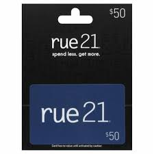 Rue21 $50 Gift Card, 1 Count - Fry's Food Stores
