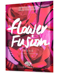 <b>Origins Flower Fusion Rose</b> Hydrating Sheet Mask & Reviews - Skin ...