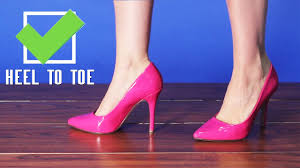How To Walk In Pointy <b>High</b> Heels Tutorial from AMICLUBWEAR ...